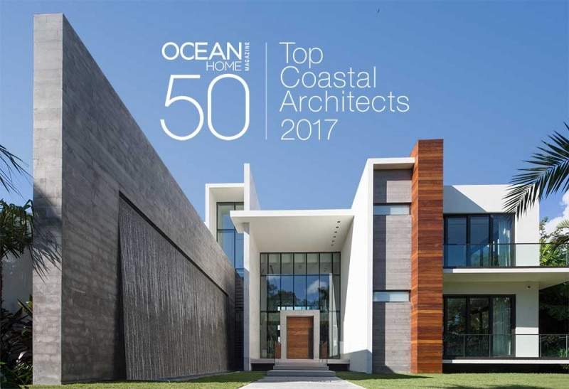 Choeff levy fischman named top coastal architects for Top 50 architects in the world